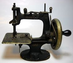 Vintage Toy Singer Sewing Machines.  I have a few.  A favorite collection