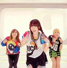 dancing girls smiling fx teens sulli hehe carefree choi jin ri electric shock rum pum pum pum #gif from #giphy