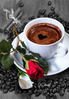 Love and coffee or coffee and love. Coffee Vs Tea, Coffee Gif, Coffee Images, Brown Coffee, Coffee Is Life, Coffee Break, Coffee Shop, Coffee Lovers, Black Coffee