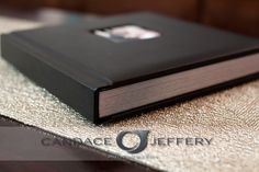 Renaissance Albums - 10x10 Fine Art Album | Chelsea Leather - Black Cover | One Image Opening (OP1) | 17 Pages | Source: Candace Jeffery (candacejefferyphotography.com/)