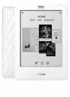 Kobo Wifi eReader .  Rs7825.  Imported from USA.  Available only at Wesprodigital.com
