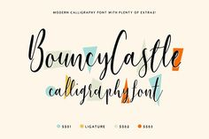Bouncy Castle Callig
