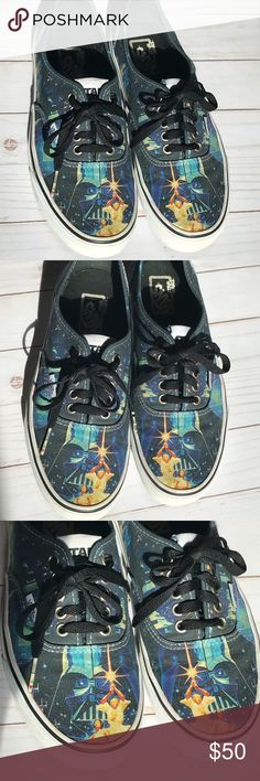 c2168fd002 Shop Women s Vans size Sneakers at a discounted price at Poshmark.  Description  Limited Edition Star Wars Vans Women s size or men s Excellent  used ...