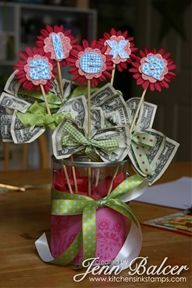 Money Bouquet How-To