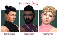 Merry Merry Mama: A Secret Santa gift for @mamalovesnuts@plumbobteasociety had a little secret santa, and I got the creative and talented @mamalovesnuts! Here is a set of 3 sims and 3 CAS items for mama, and especially with her lovely sim Emilee in...