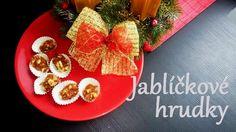 mandle, jablka, vánoční cukroví, jablíčkové hrudky