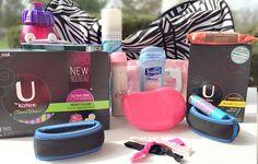Gym Bag Essentials  via www.hairsprayandhighheels.com