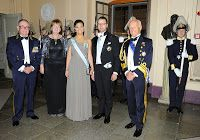 November 14, 2013  Royal Swedish Academy of War Sciences gathering Crown Princess Victoria and Crown Prince Daniel attended the Royal Swedish Academy of War Sciences' formal gathering.