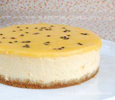 Dulces bocados: Cheesecake de fruta de la pasion