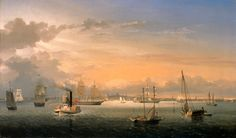 Colonial Boston Harbor | Original file ‎ (3,000 × 1,758 pixels, file size: 3.01 MB, MIME ...