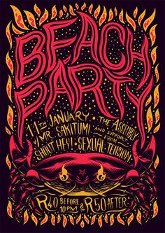 Typographic Illustrations by Ian Jepson