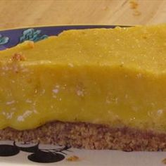 Raw Mango Pie Recipe (Paleo) on BigOven: I personally love bananas and mangoes: my two favorite fruits! This pie is as easy as, well, pie! And the taste is incredible! You can also freeze this for a frozen mango pie.