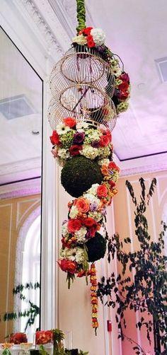 Birdcage floral fantasy