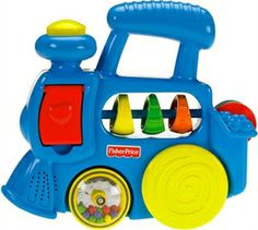 FISHER-PRICE BRILLIANT BASICS - ACTIVITY SOUNDS CHOO-CHOO  Designed for little ones aged between six months and three years,
