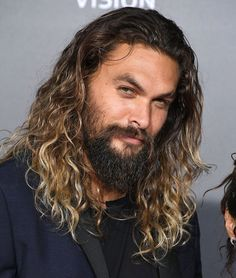 Every day! Every day he looks like this! Can you even? Do you think he ever looks at himself in the mirror and has to sit down and take a minute? I'm sure he does. It's a lot to handle.  FACT: Jason Momoa is married to Lisa Bonet