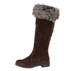 i need these!!!!!   Step out in style with these Tabeez women's mid-calf boots. The cozy boots feature microsuede uppers and a trendy faux fur trim.http://www.overstock.com/Clothing-Shoes/Tabeez-Womens-Akimi-Tall-Microsuede-Boot/6436119/product.html?CID=214117 $29.99