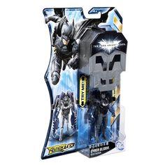 CYBER GLIDER BATMAN Deluxe Quicktek Dark Knight Rises DC Action Figure