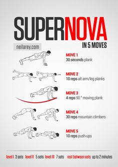 Supernova Workout | Neila Rey Workouts <3