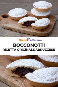 Italian Cookies, Italian Desserts, Italian Recipes, Moon Cake, Mini Foods, Baked Goods, Sweet Recipes, Food And Drink, Dessert Recipes