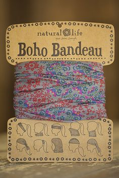 Boho Bandeaus From Natural Life - I have this exact one, and a few others. Love them!
