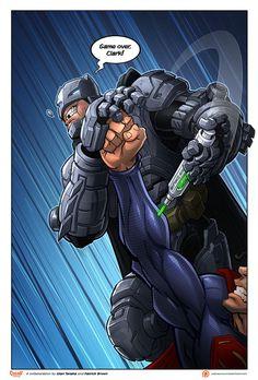 Batman v Superman collaberation by PatrickBrown on DeviantArt