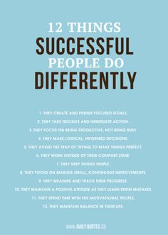 How to be successful. It would be nice to print & frame this for a desk