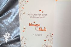 wedding table  menue stationary #weddinginvitation #weddingpapeterie #feenstaub #disney #hochzeitseinladung
