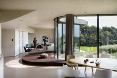 Architecture studio UNStudio designed The W. House, a contemporary residence located in the Netherlands. House in the north of Holland incorporates both integrated sustain… Interior Design Magazine, Home Interior Design, Interior Architecture, Interior And Exterior, Contemporary Architecture, Nachhaltiges Design, House Design, Dutch House, D House