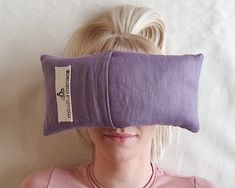 Sustainably and ethically handmade in Ireland by the Mindful Menace. Made to last using 100% flax linen, organic buckwheat hulls and natural cotton. Simply lie back, place over eyes and relax. Great for Yoga nidra, self hypnosis, body scan meditations and savasana. Can also help headaches, migraine, anxiety & insomnia. Meditation Gifts, Itchy Eyes, Yoga Nidra, How To Get Sleep, Buckwheat, Migraine, Insomnia, Mindful, Anxiety
