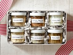 29 Irresistible Edible Gifts to Make for Birthdays and Celebrations - Flavored Salts