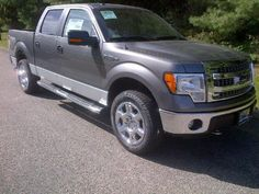 charcoal grey 2013 Ford F-150 truck