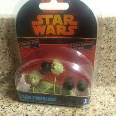 Star Wars Yoda Earbuds