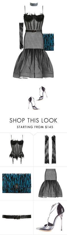"""""""my dark lady"""" by nandusho ❤ liked on Polyvore featuring N°21, Proenza Schouler, Maticevski, Isabel Marant and Balenciaga"""