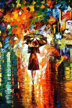 Why do I like this style of painting so? Vibrant color & heck it takes talent!
