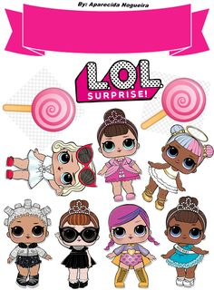 My Little Pony Birthday, Birthday Clipart, Silhouette Clip Art, Doll Party, Lol Dolls, Baby Art, Party Items, Birthday Cake Toppers, Hello Kitty
