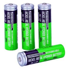Rechargeable batteries - Top 9 Green Eco-Friendly Products for Your Daily Life