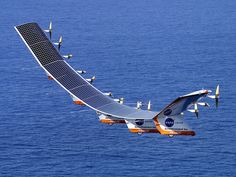 Solar-powered planes | Fitted with newer high efficiency solar cells and other improvements ...