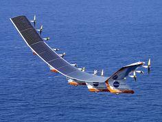 Expérimental Solar Aircraft  Fantastic!
