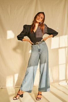 Forever 21 Top Affordable Tops reasonablyrebecca Affordable Clothes, Bell Bottom Jeans, Latest Trends, Forever 21, 21st, Womens Fashion, Sleeves, Tops, Outfits