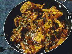 SIRISHA'S DECCANI NAWABI RECIPES: Murgh methi !!!! Chicken with Fenugreek Leaves.