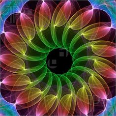 fractal kaleidoscope | Found on featurepics.com