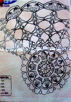Tecendo Artes em Crochet: Toalhinha Arco-Íris - Um show de Cores!