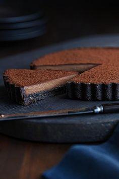 Chocolate Shots, Chocolate Desserts, Ghirardelli Chocolate, Chocolate Torte, Chocolate Cheesecake, Tart Recipes, Sweet Recipes, Dessert Recipes, Just Desserts