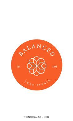 yoga logo, premade branding package, yoga studio, yoga branding package, yoga studio logo design. brand identity, beautiful yoga logo, wellness logo, essential oil logo, premade branding, premade logo, logo for sale