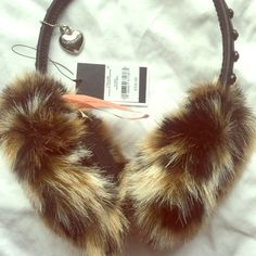 Juicy couture headphones Juicy couture animal print headphones Juicy Couture Other