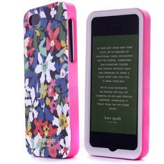 Accforcity Kate Spade Iphone 5 Resin Hard Case( Color Little Flowers)