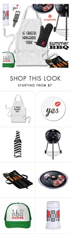"""""""Summer BBQ"""" by ansev ❤ liked on Polyvore featuring interior, interiors, interior design, home, home decor, interior decorating, Char-Broil, Picnic at Ascot, Weber and snapmade"""