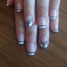 french tip accent