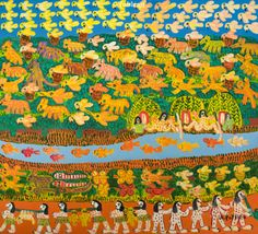 Poteiro. Aldeia (2006). 90x100 cm.