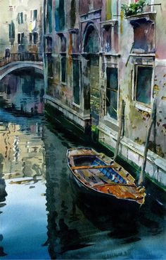 Stan Miller - Paintings Calm Water - 7986